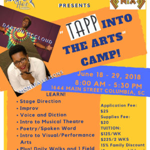 "2018 ""Tapp Into the Arts"" Camp"